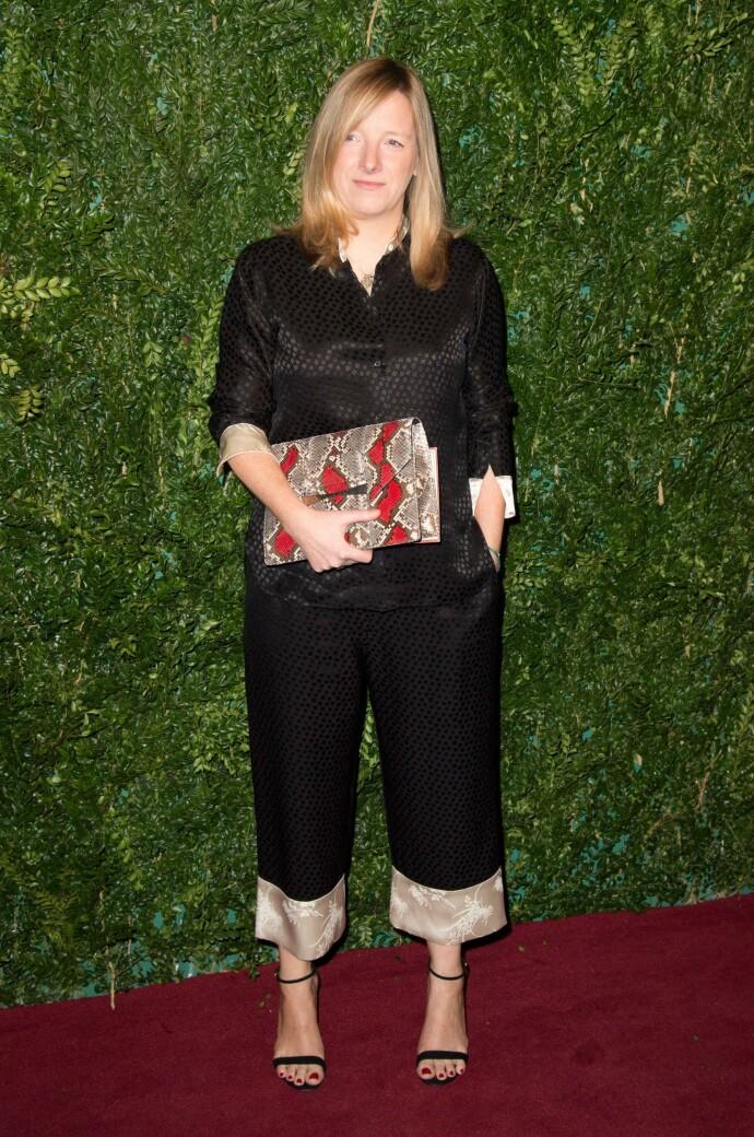 SARAH BURTON: Designeren lager klær for merket Alexander McQueen. Foto: NTB Scanpix