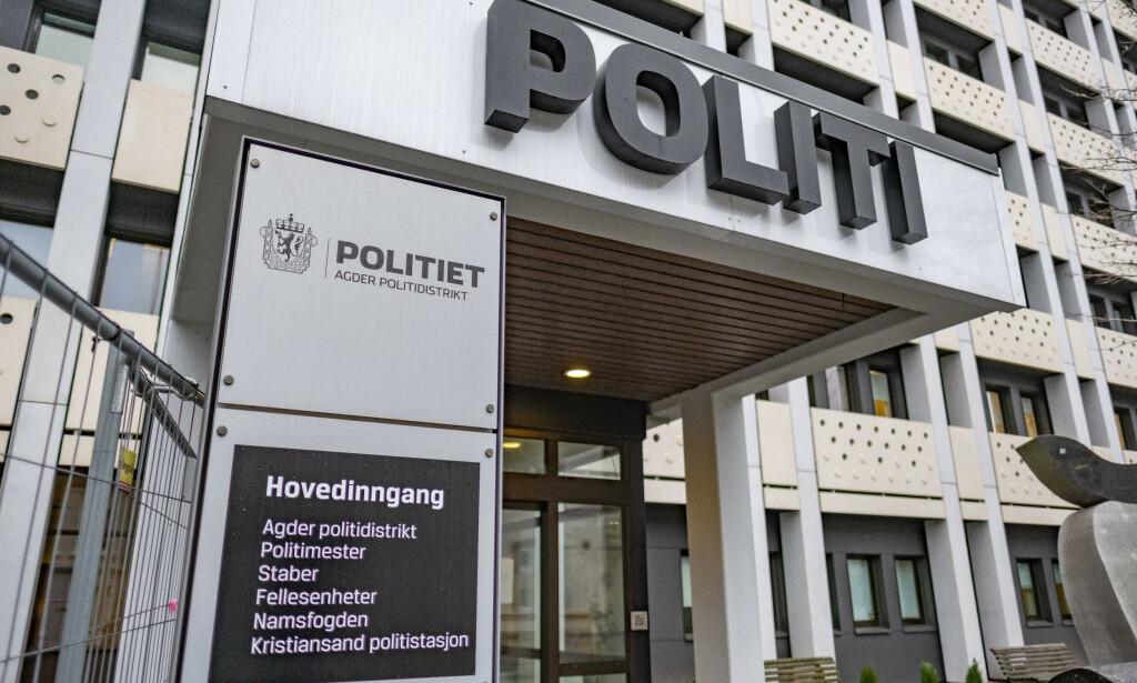 Avhøret fant sted i politihuset i Kristiansand. Foto: Tor Erik Schrøder / NTB scanpix