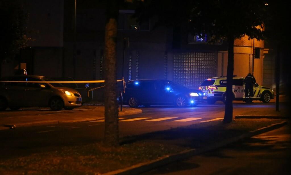 OPPFORDRING: Folk har blitt bedt om å holde seg unna sentrum. Foto: Nyhetstips.no