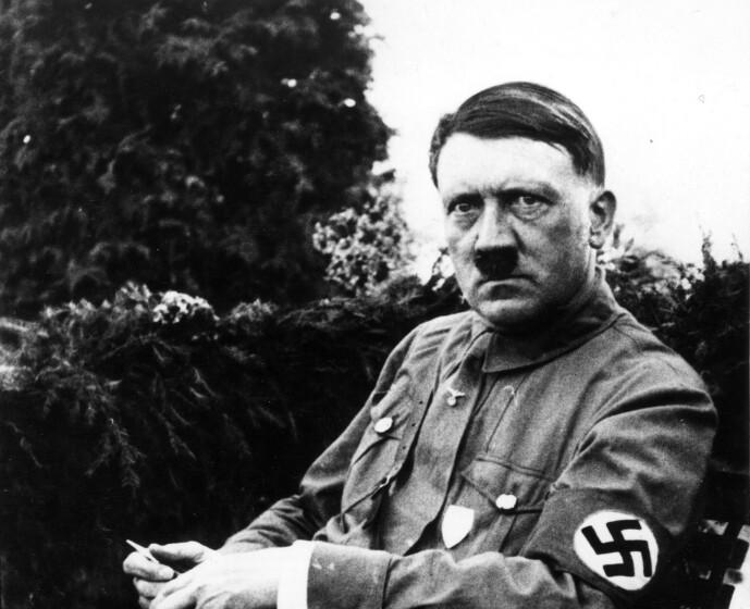 RASERI: Adolf Hitler sørget for å være høy på metamfetamin i forbindelse med viktige møter. Foto: REX NTB Scanpix