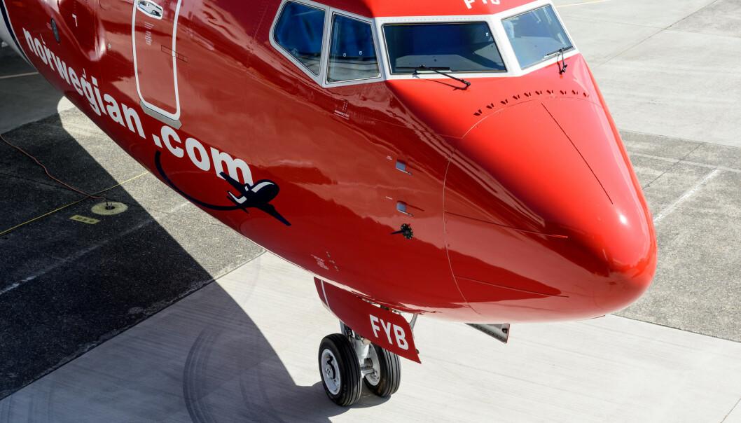 <strong>BOEING 737 MAX:</strong> Denne flytypen har vært en katastrofe for Norwegian og mange andre flyselskaper. Foto: Alastair Philip Wiper/View/REX/NTB Scanpix