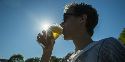 image: Så mye alkohol tåler kroppen i varmen