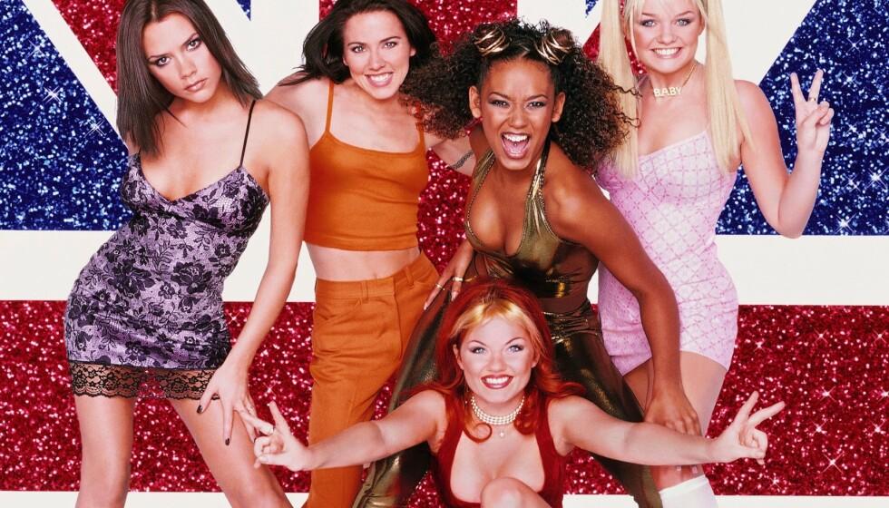 Spice Girls-jentene hadde alle sin smak når det kom til hår, men det er en av disse frisyrene som gjør et comeback nå. Vet du hvilken? Foto: NTB Scanpix