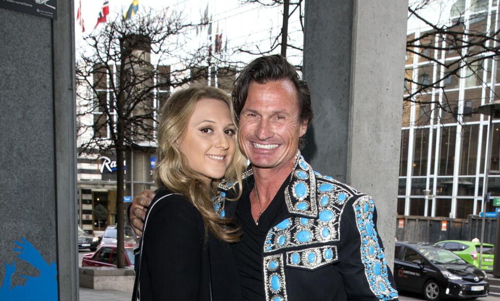 FORLOVET: Petter Stordalens datter, Emilie Stordalen, har forlovet seg med kjæresten Jens Bredberg. Foto: Andreas Fadum / Se og hør