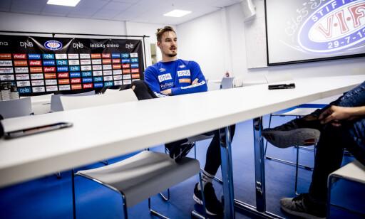 OSLO 20200714 Vålerenga-trening. Reservekeeper Kjetil Haug på Intility stadion. Foto: Christian Roth Christensen / Dagbladet