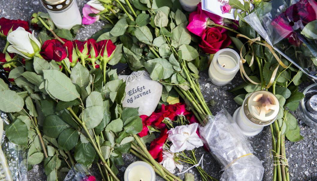 Det var Marianne Haugen (54) som ble drept i Sarpsborg den 15. juli. To andre kvinner ble også knivstukket av samme gjerningsmann. Foto: Berit Roald / NTB scanpix