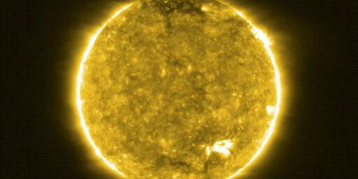 image: Sånn har du aldri sett sola