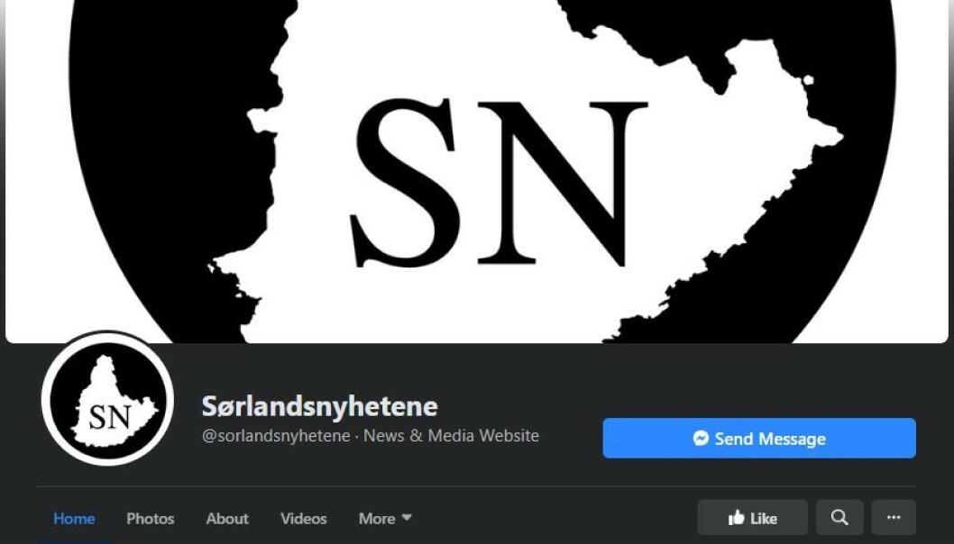 OMSTRIDT: Den Kristiansand-baserte Facebook-siden Sørlandsnyhetene har lenge skapt overskrifter.