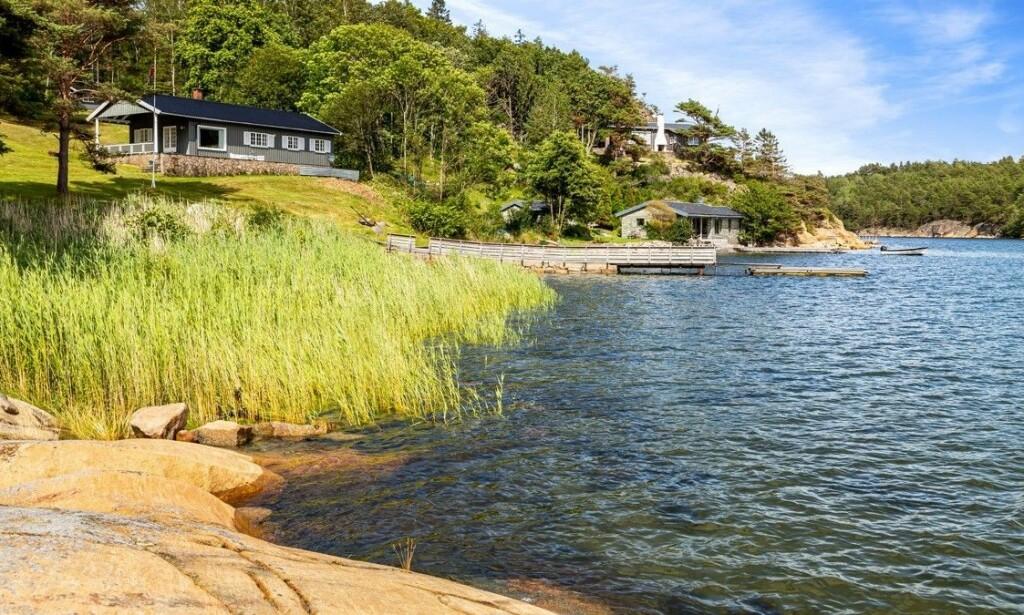 OPPRINNELIG SMÅBRUK: Da Sønsteby kjøpte eiendommen i 1957 var det opprinnelig et småbruk. Foto: Kevin Fauske / Privatmegleren Tjuvholmen