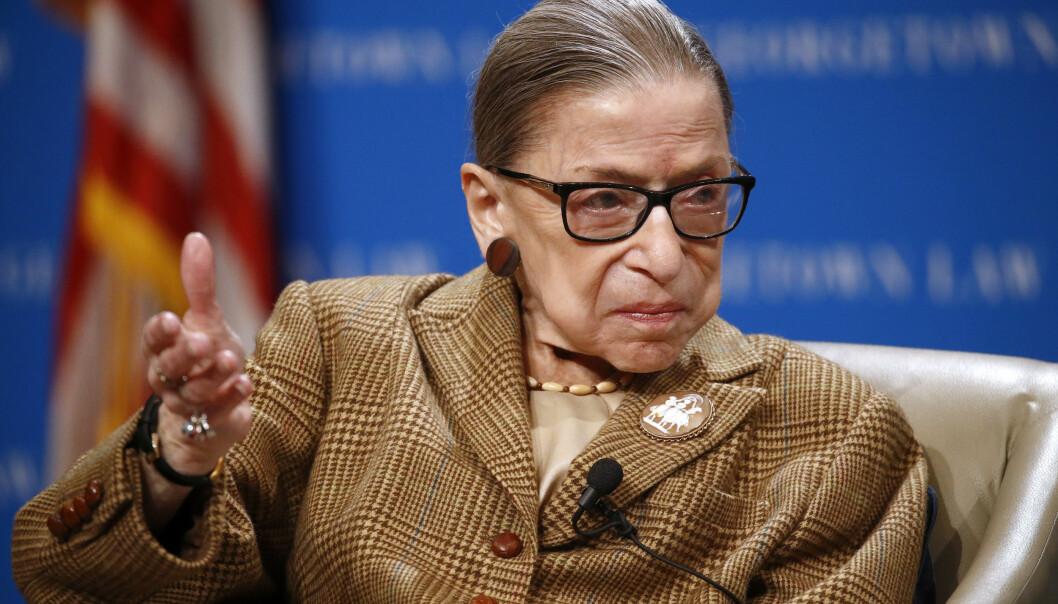 Den 87 år gamle høyesterettsdommeren Ruth Bader Ginsburg får cellegift etter tilbakefall av kreft. Arkivfoto: Patrick Semansky / AP / NTB scanpix