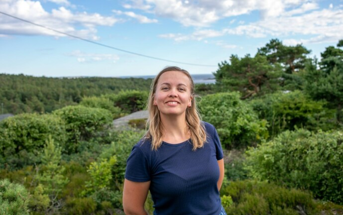 I DAG: 17 år etter «Lille Frøken Norge» har Ida Maria Dahr Nygaard akkurat fullført en bachelor i psykologi. Foto: Privat