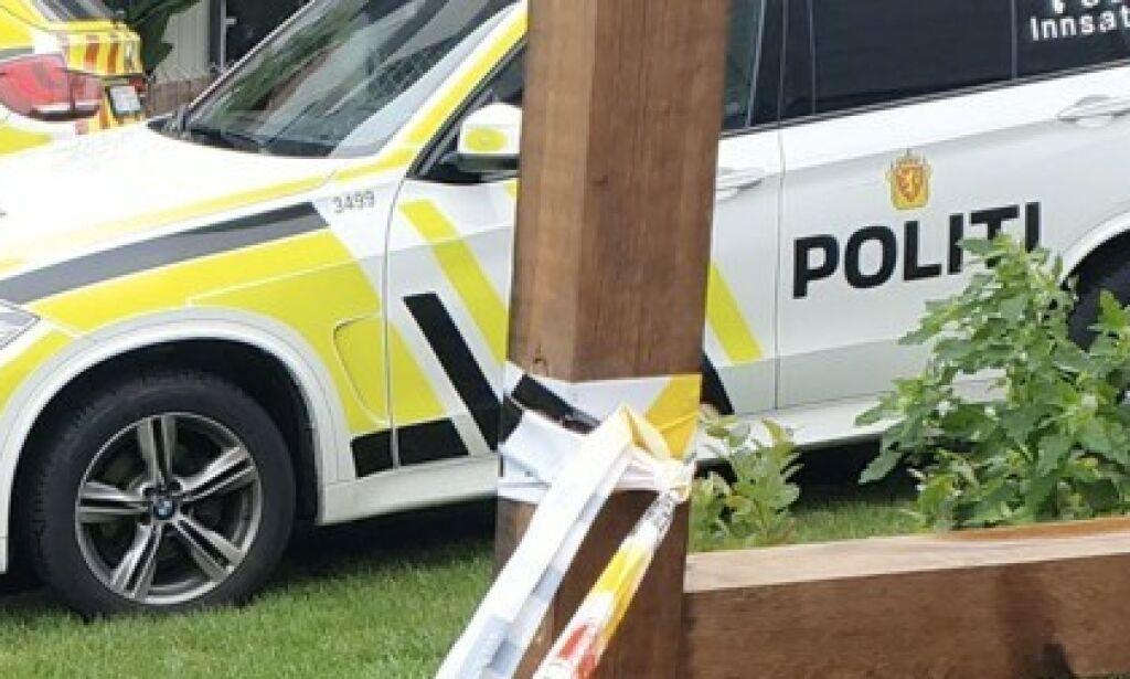 image: To barn funnet døde og mor skadd