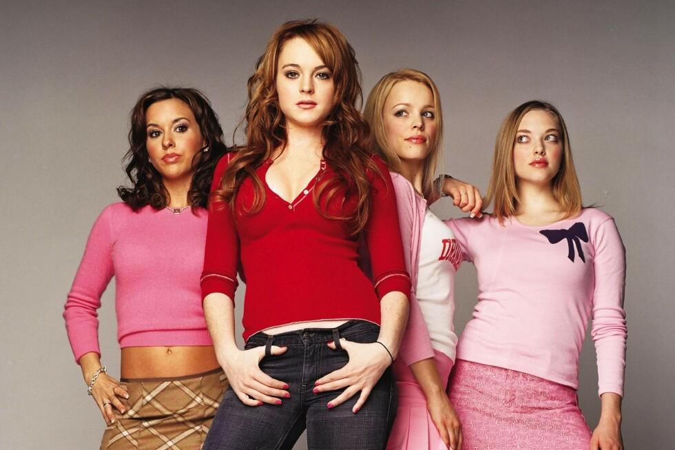 2004: Slik så gjengen ut da de spilte i «Mean Girls» for nærmere to tiår siden. FOTO: Scanpix