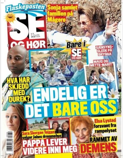 SELGER: Sara Skorgan Teigen selger farens hjem i Sverige. Se bildene og les hele intervjuet i tirsdagens utgave av Se og Hør. Faksimile: Se og Hør