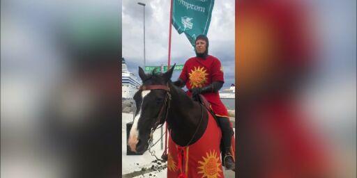 image: Svensk øy har ansatt «riddere»