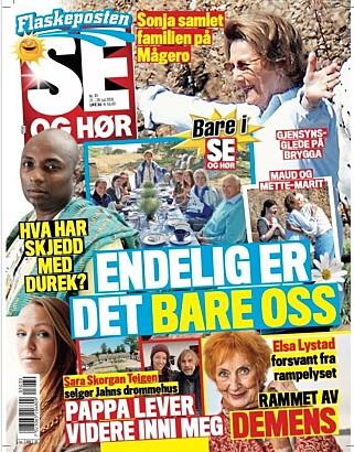 SELGER: Sara Teigen forteller om boligsalget i tirsdagens utgave av Se og Hør.