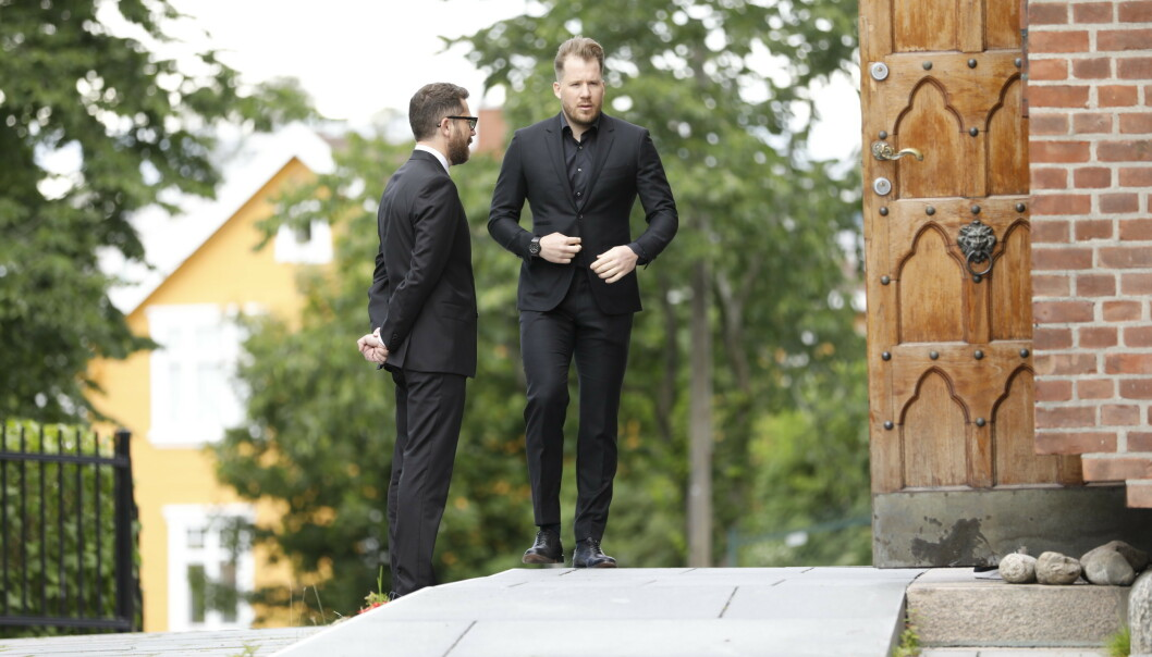 I SORG: Kjetil Jansrud. Foto: Christian Roth Christensen / Dagbladet