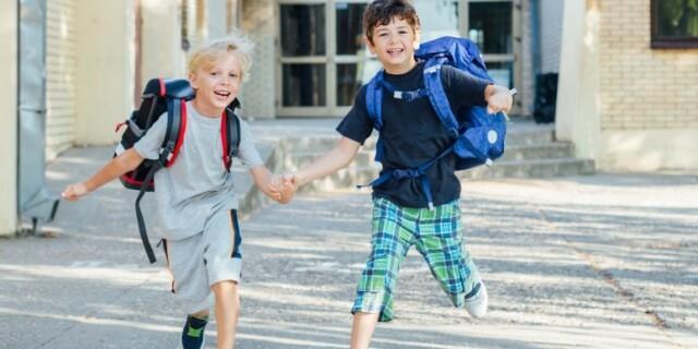 Image: Skolestart: La barnet bestemme dette