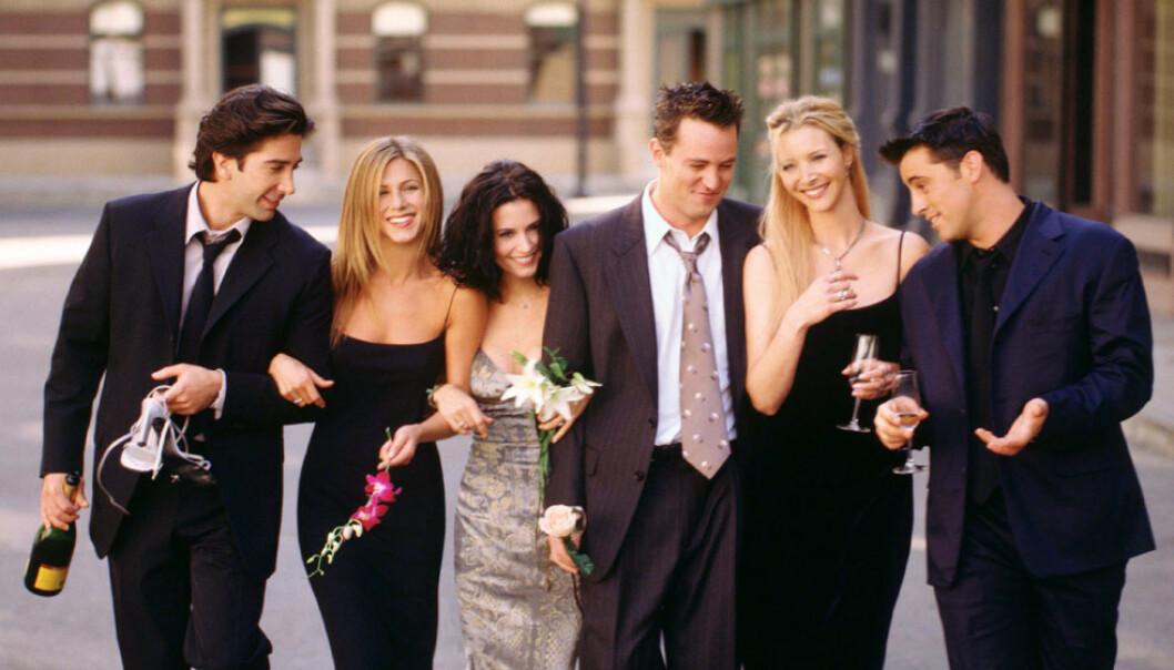 <strong>SAMMEN IGJEN:</strong> Spesialepisoden av «Friends» kan filmes i august om det trygt nok avslører David Schwimmer. Foto: NTB Scanpix
