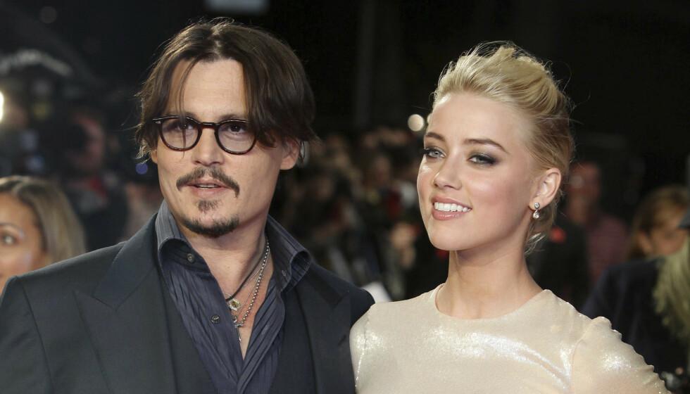 VITNEFORKLARING: Da Amber Heard mandag vitnet i den pågående rettssaken mellom eksmannen Johnny Depp og The Sun fortalte hun om hendelse som skal ha funnet sted i Australia da de var et par. Foto: NTB Scanpix