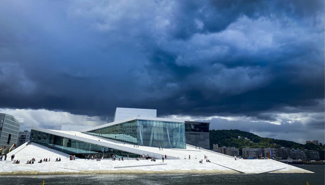 Ikke siden 90-tallet har det vært lavere gjennomsnittstemperaturer i juli for Oslo. Også andre steder i landet har snittemperaturene i juli vært lavere enn foregående år. Foto: Heiko Junge / NTB scanpix