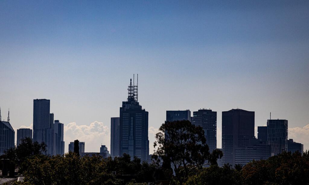 UTBRUDD: I storbyen Melbourne i delstaten Victoria har det de siste ukene vært en stigende smittekurve. Byen har vært i lockdown i snart 14 dager torsdag. Foto: James Moy / Pa Photos / NTB scanpix