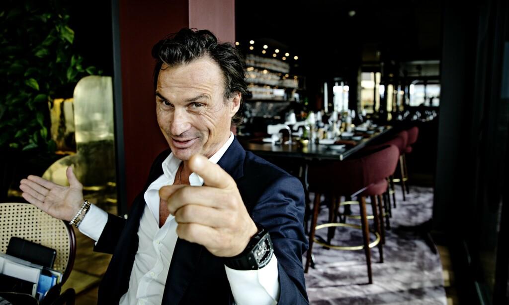 SELGER HOTELL: Hotellkongen Petter Stordalen selger hotell i Stockholm for milliardsum. Foto: Nina Hansen / Dagbladet.