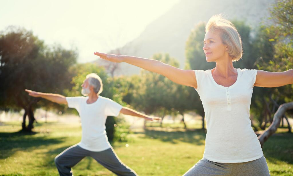 LEV LENGER: En ny studie fra Harvard University har regnet ut hvor lenge man kan forvente å leve ved å følge fem sunne vaner. Moderat til intensiv trening et par timer i uka er en av dem. Foto: NTB Scanpix