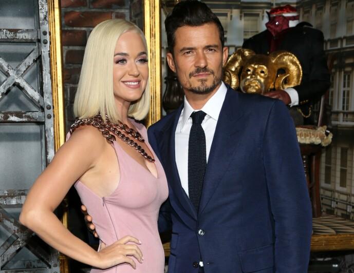 FORLOVET: Orlando Bloom er forlovet med den amerikanske artisten Katy Perry, og sammen venter de sitt første barn. FOTO: NTB scanpix