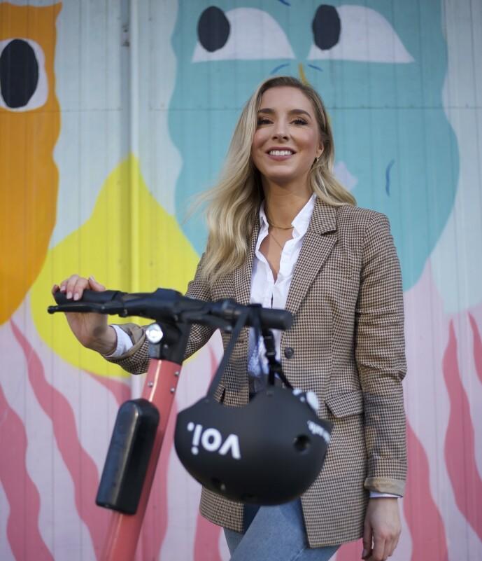 <strong>- STORT POTENSIALE:</strong> Voi-sjef Christina Moe Gjerde sier at de har kommet med innspill til politikerne. Foto: Voi