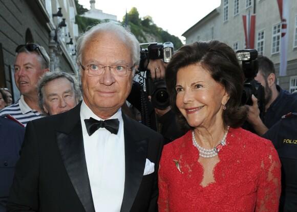 KAN FÅ HJELP: Det svenske kongeparet kan få bistand fra staten. Foto: NTB Scanpix