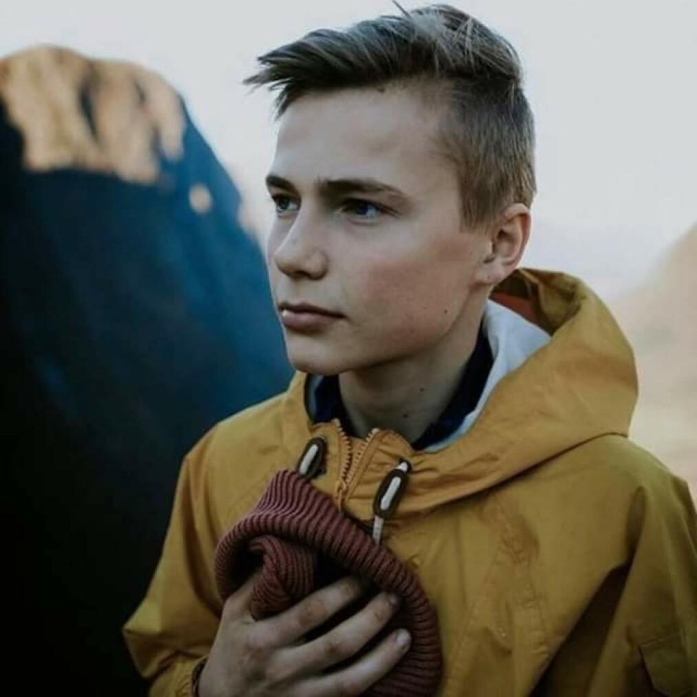 <strong>BLE SYK:</strong> - Jeg så på dem som trengte mat som svake, sier Moritz. To år er nærmest borte fra hukommelsen hans, grunnet spiseforstyrrelsen han utviklet i ung alder. Foto: Privat