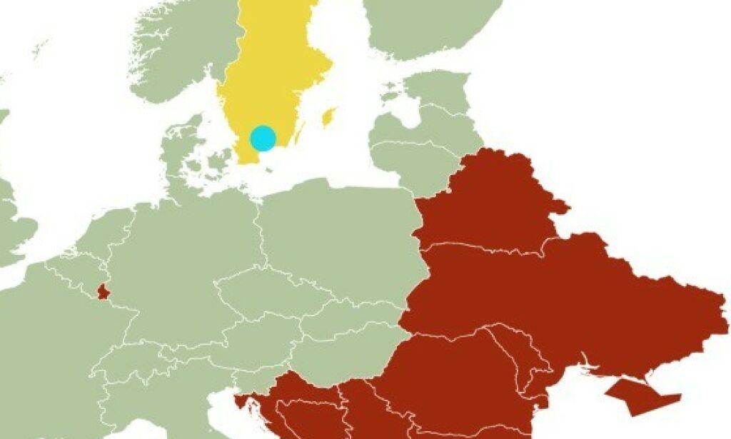 image: NÅ: Disse landene kan du reise til