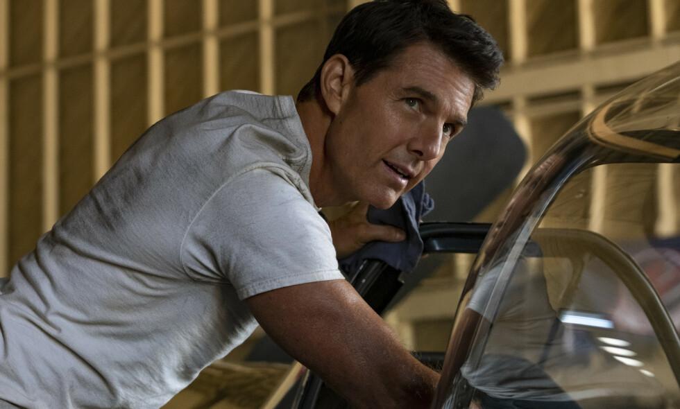 FIKK JA: Tom Cruise har fått fritak fra corona-restriksjoner for å spille inn scener til ny Mission Impossible-film. Foto: Paramount Pictures