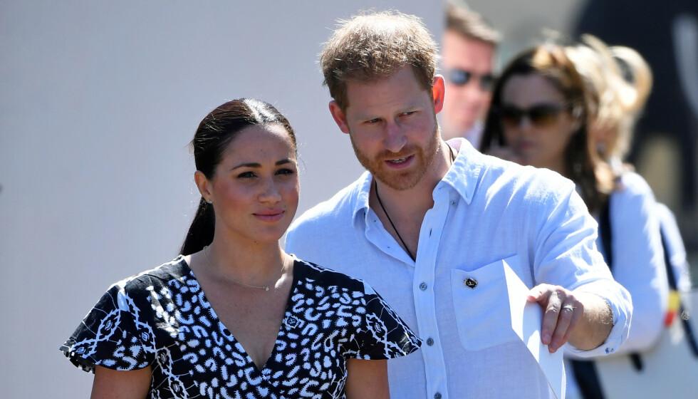 AVSLØRER: Den nye boka «Finding Freedom: Harry and Meghan and the Making of A Modern Royal Family» røper ifølge internasjonale medier hvordan den siste tida var for Harry og Meghan før de trakk seg tilbake. Foto: NTB Scanpix