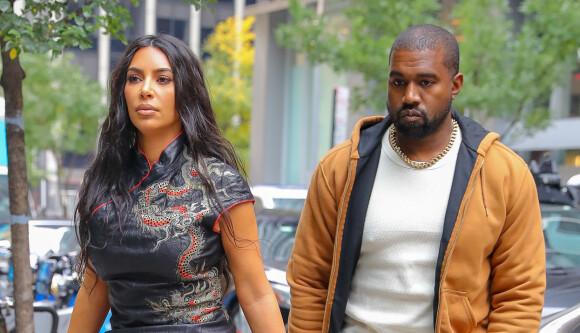 DÅRLIG STEMNING: Forholdet mellom Kim Kardashian og Kanye West er ikke på sitt beste for tiden. Her er de avbildet i New York City ved en tidligere anledning. Foto: NTB Scanpix
