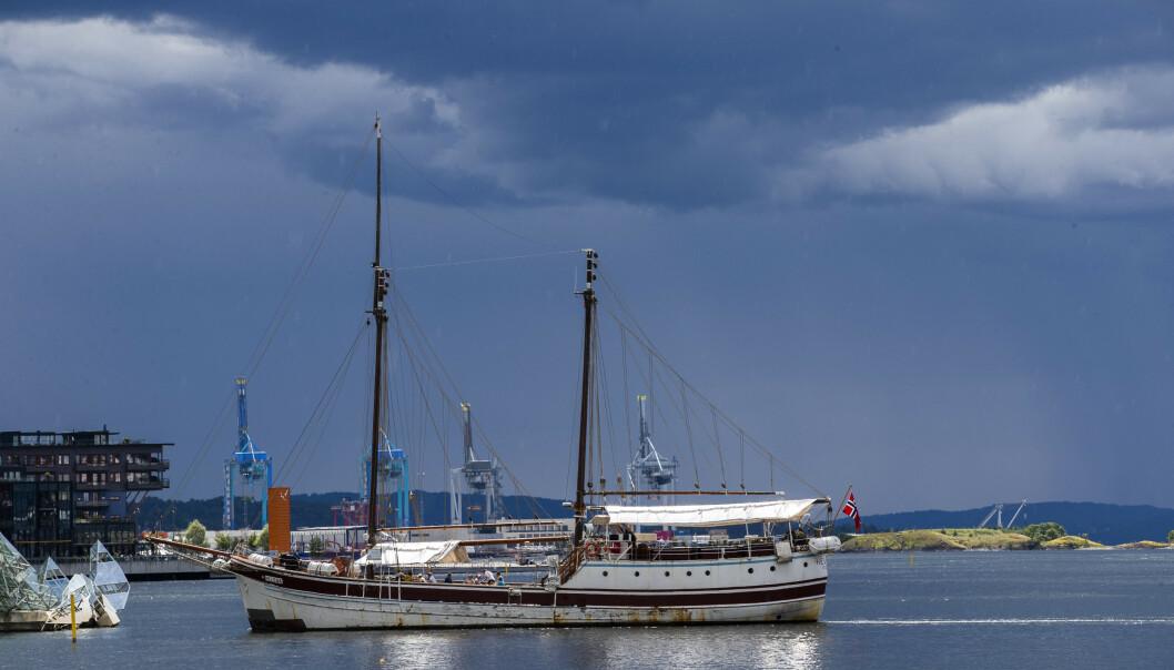Det er meldt tunge skyer over Oslo og resten av Sør-Norge de kommende dagene. Foto: Berit Roald / NTB scanpix