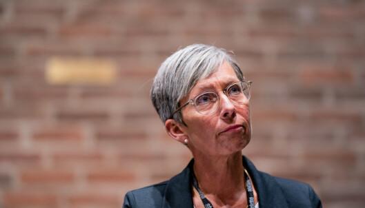 «ALVORLIG»: Det er ordet Moss-ordfører Hanne Tollerud bruker for å beskrive koronasituasjonen i kommunen. Foto: Stian Lysberg Solum / NTB scanpix