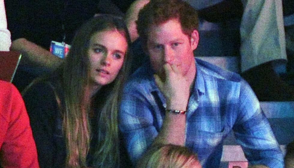 EKSER: Sosietetskvinnen Cressida Bonas og prins Harry var i et forhold frem til 2014. Nå har førstnevnte giftet seg med en ny Harry. Foto: NTB Scanpix