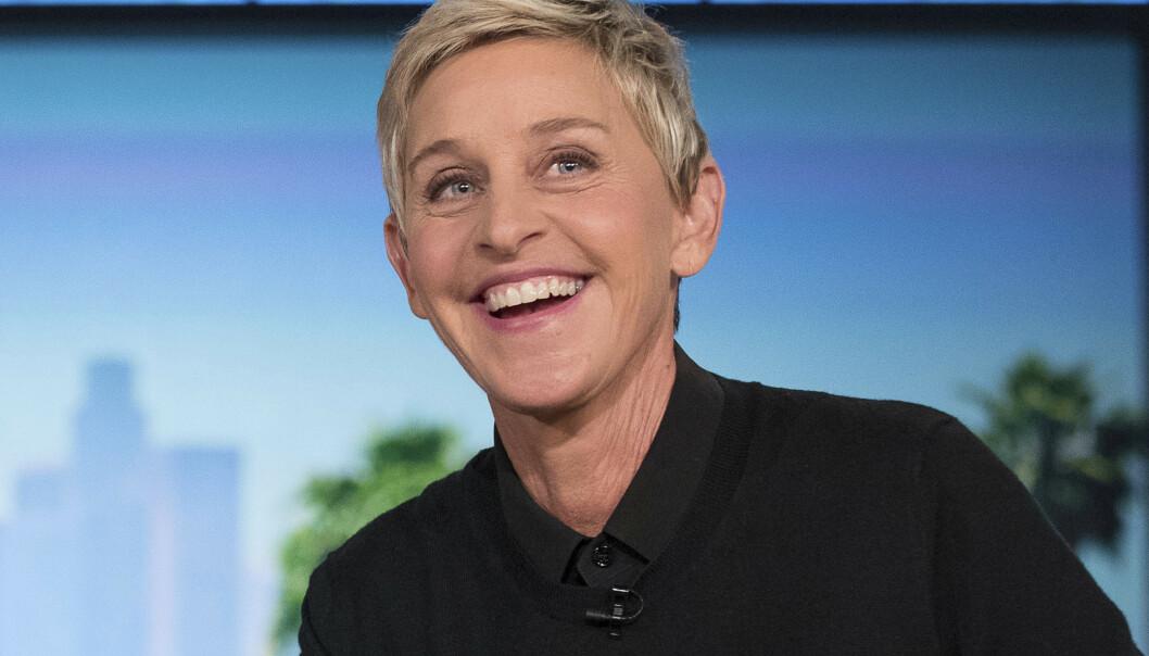 <strong>SKAL GRANSKES:</strong> Talkshow-stjernen Ellen DeGeneres og showet hennes skal gjennom en intern etterforskning. Foto: AP/Andrew Harnik