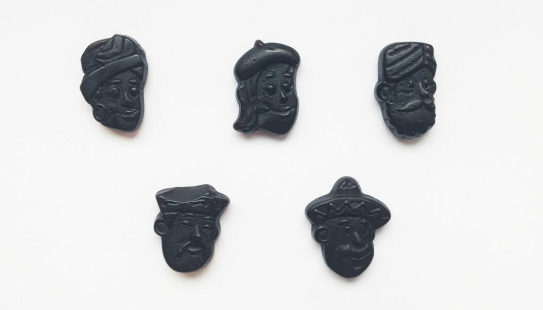 KARIKERT: Førsteamanuensis på Kulturhistorisk Museum ved Universitetet i Oslo, mener dette godteriet burde endre utseende. Foto: Ellen Karin Moen / Dagbladet