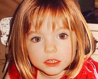 FORSVANT: Maddie McCann har vært savnet siden 2007. Foto: Privat / Rex