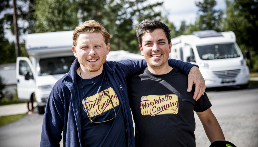 <strong>OPTIMISTER:</strong> Daglig leder Jermund Udnæseth og driftssjef Lars Christian Amundsen. Foto: Christian Roth Christensen / Dagbladet