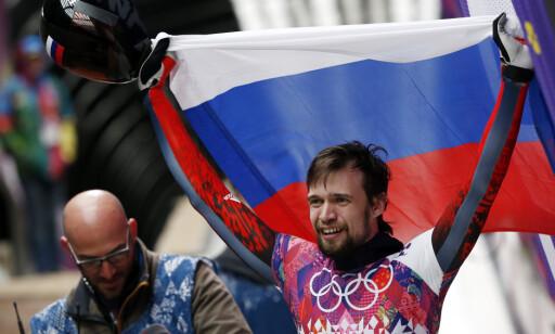 DOPET: Rodtsjenkov skriver om blant annet hvordan han byttet ut Aleksandr Tretyakovs urin etter sitt gull i skeleton. Foto: Murad Sezer/Reuters