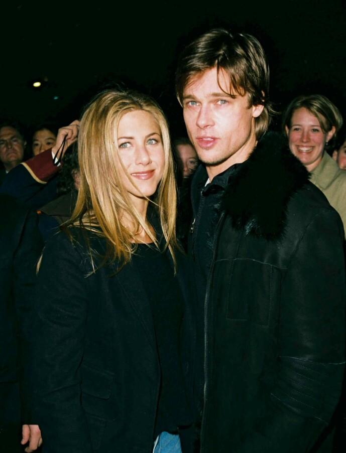 POPULÆRE: Så fort det ble kjent at duoen hadde blitt et par, ble de blant de mest populære i Hollywood. Her sammen under Saturday Night Live-etterfesten i New York i 1999. Foto: NTB Scanpix