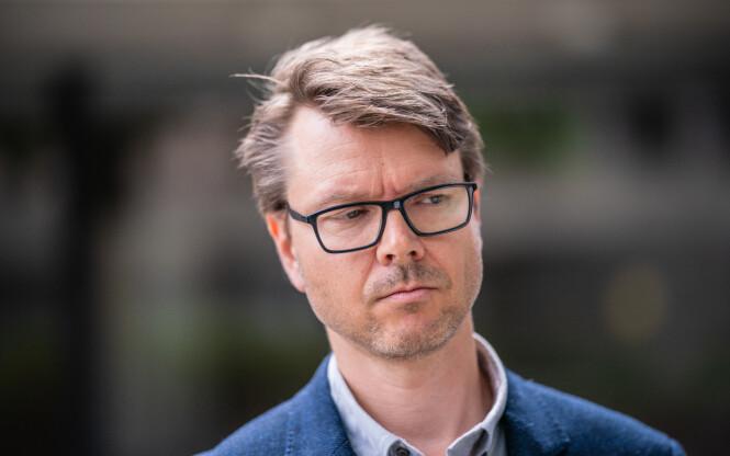 Oslo 20200727.  Kommuneoverlege i Moss, Kristian Krogshus, uttaler seg om koronasituasjonen i Moss. Foto: Stian Lysberg Solum / NTB scanpix