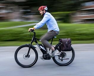 Sju av ti vil ha påbud for sykkelhjelm