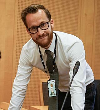 PÅTALE: Christoffer Wiborg Seyfarth er politiadvokat i Øst politidistrikt. Foto: Øistein Norum Monsen/Dagbladet