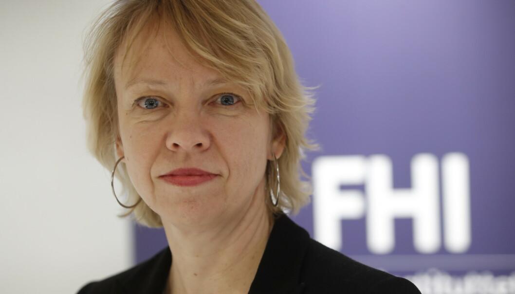 SMITTE: Overlege Siri Helene Hauge ved Folkehelseinstituttet mener det er viktig at kommunene følger opp de nye smittetilfellene. Arkivfoto: Terje Bendiksby / NTB Scanpix