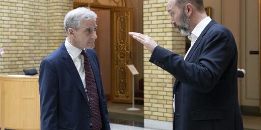 image: - Opplagt at Giske ikke blir statsråd